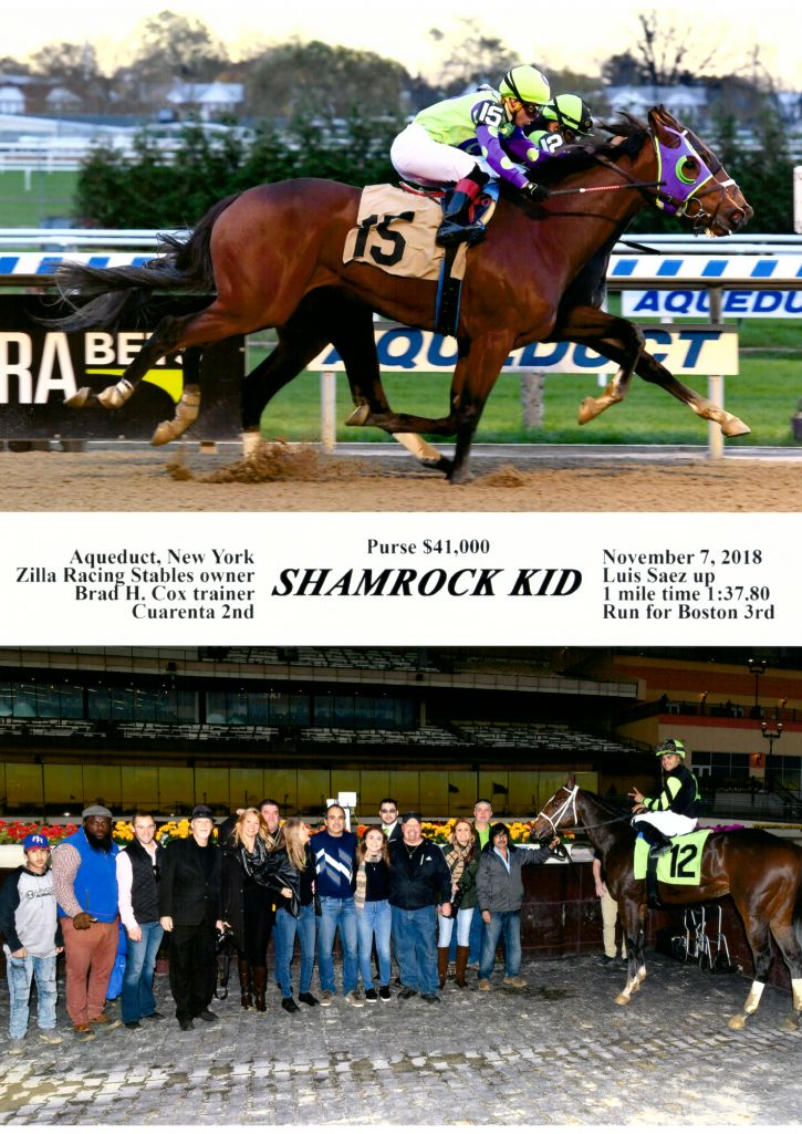 Shamrock Kid Win Photo